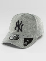 New Era Casquette Snapback & Strapback Jersey Tech A-Frame NY Yankees gris