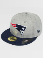 New Era Fitted Cap New England Patriots 59Fifty šedá