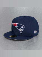 New Era Fitted Cap On Field 15 Sideline New England Patriots blau