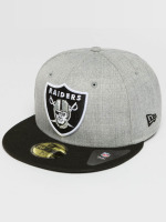 New Era Fitted Cap Oakland Raiders 59Fifty grau