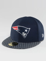 New Era Fitted Cap NFL On Field New Endland Patriots 59Fifty modrý