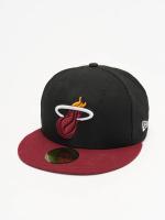 New Era Fitted Cap NBA Basic Miami Heat 59Fifty schwarz