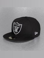 New Era Fitted Cap On Field 15 Sideline Oakland Raiders schwarz