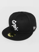 New Era Fitted Cap Acperf Chicago White Sox 59Fifty schwarz