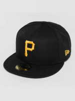 New Era Fitted Cap Acperf Pittsburgh Pirates 59Fifty schwarz
