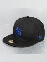 New Era Fitted Cap MLB Seasonal Basic NY Yankees 59Fifty schwarz