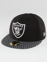 New Era Fitted Cap NFL On Field Oakland Raiders 59Fifty zwart