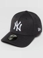 New Era Flexfitted Cap Team Heather NY Yankees blauw
