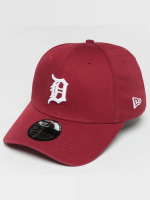 New Era Flexfitted Cap Washed Detroit Tigers 39Thirty czerwony