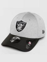 New Era Flexfitted Cap Jersey Hex Oakland Raiders grau