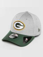 New Era Flexfitted Cap Jersey Hex Green Bay Packers grey