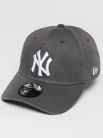 New Era Flexfitted Cap Washed NY Yankees 39Thirty grigio