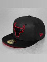 New Era Gorra plana Diamond Era Prene Chicago Bulls negro