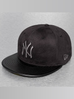 New Era Gorra plana Faux NY Yankees negro