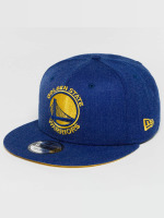 New Era Gorra Snapback Team Heather Golden State Warriors azul