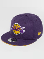 New Era Gorra Snapback Team Heather LA Lakers púrpura