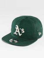 New Era Gorra Snapback Chain Stitch Oakland Athletics verde