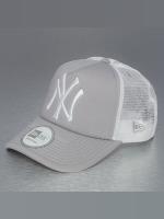 New Era Gorra Trucker Clean NY Yankees gris
