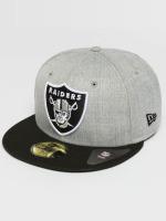 New Era Hip hop -lippikset Oakland Raiders 59Fifty harmaa