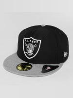 New Era Hip hop -lippikset Dryera Tech Oakland Raiders 59Fifty harmaa