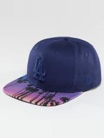 New Era Snapback Cap West Coast Visor Print LA Dodgers blau