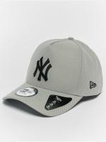 New Era Snapback Cap Diamond NY Yankees A Form grau