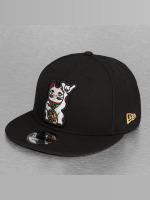 New Era Snapback Cap Cat 9Fifty nero