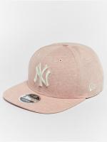New Era Snapback Cap Jersey Brights NY Yankees 9Fifty rosa chiaro