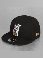 New Era Snapback Cap Cat 9Fifty schwarz