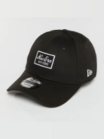New Era Snapback Cap Script Patch 9Forty schwarz