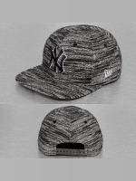 New Era Snapback Caps Jersey Fleck NY Yankees šedá