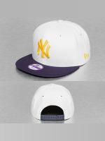 New Era Snapback Caps Junior Camo Speckle New York Yankees bílý