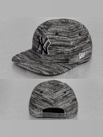 New Era Snapback Caps Jersey Fleck NY Yankees grå