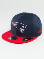 New Era Snapback Caps New England Patriots modrý