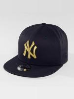 New Era Snapback Caps Golden NY Yankees 9Fifty modrý