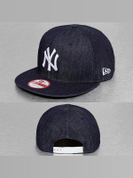 New Era Snapback Caps Denim Basic NY Yankees sininen