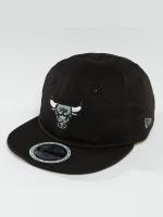 New Era Snapback Caps Reflect Chicago Bulls 9Fifty svart