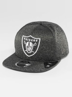 New Era Snapback Caps Jersey Tech Oakland Raiders 9Fifty szary