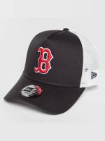 New Era Trucker Cap Team Essential Boston Red Sox schwarz