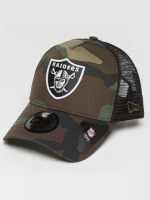 New Era Trucker Caps Camo Team Oakland Raiders kamufláž