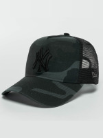 New Era Trucker Caps Washed Camo NY Yankees Trucker Cap kamuflasje