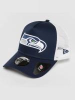 New Era Trucker Caps Team Essential Seattle Seahawks modrý