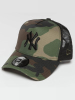 New Era Trucker Caps Camo Team NY Yankees moro