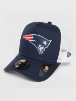 New Era Trucker Caps Team Essential New England Patriots niebieski
