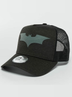 New Era Trucker Caps Concrete Jersey Batman svart