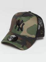 New Era Trucker Camo Team NY Yankees maskáèová