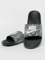 Nike Sandaalit Benassi Just Do It Print Slide musta