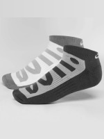 Nike Sukat No-Show 2 Pair harmaa