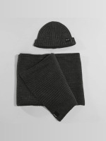 Only & Sons Beanie onsChris Beanie & Scarf grijs