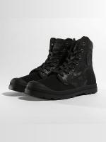 Palladium Boots Pampa Hi Knit LP Camo zwart